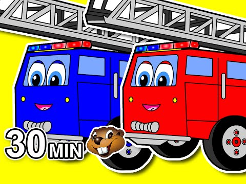 """Counting Fire Trucks Plus More"" 30 Minute Collection 