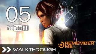 Remember Me Walkthrough Gameplay - Part 5 (Episode 3 - High Tension / Deep Exit 1/3) HD 1080p