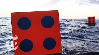 Aqua Dice Project Sets Sail - Artist of the Floating World | The New York Times