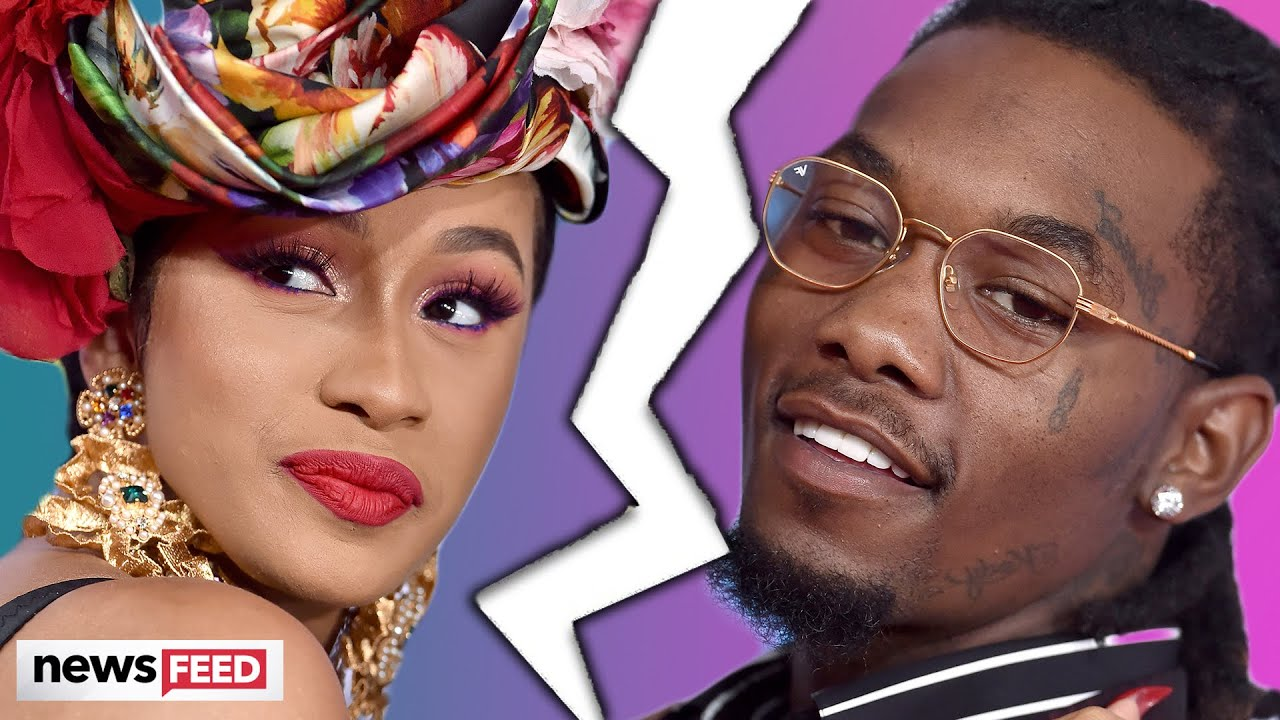 Cardi B Files For DIVORCE From Offset!