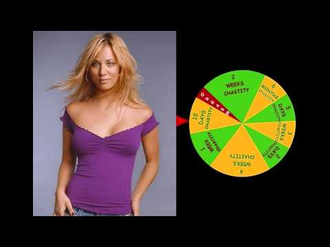 Chastity Wheel of Fortune - Kaley Cuoco