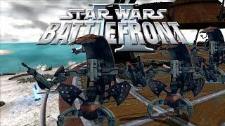 Send in the Droidekas!   Star Wars: Battlefront II w/ Kootra & Intern Joe