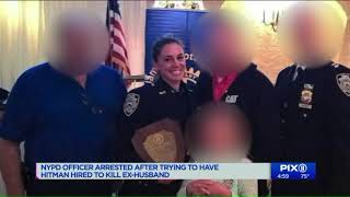 NYPD officer tried to hire hitman to kill ex: source