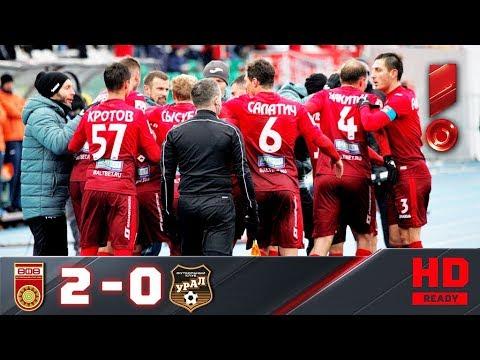 19.11.2017г. Уфа - Урал - 2:0. Обзор матча