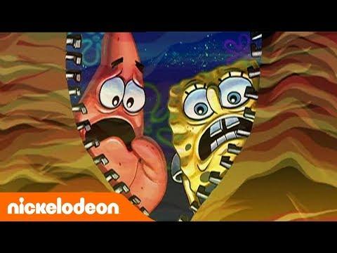 Губка Боб Квадратные Штаны | Самые страшные моменты | часть 1 | Nickelodeon Россия