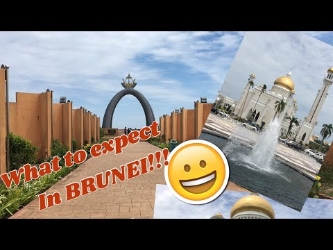 First time to Travel Abroad in BRUNEI! (08-2018)