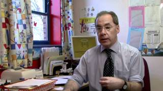 Dr Peter Saul, an allergy specialist explains how children often ou...