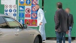 Real Paparazzi #86 Lapo Elkan visita il cantiere del nuovo Garage Italia Customs