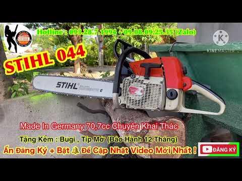 Máy Cưa STIHL 044 Made In Germany 70.7cc Hàng Chuyên Khai Thác (Lam 70) Máy Nguyên Rin / 0932871994