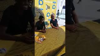 Book signing with Teko Modise