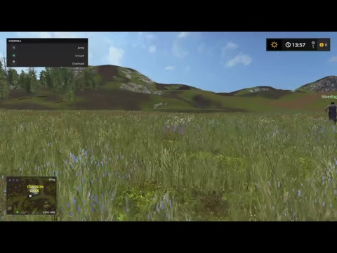 Farming simulator gameplay Pacific Inlet  2/17/18