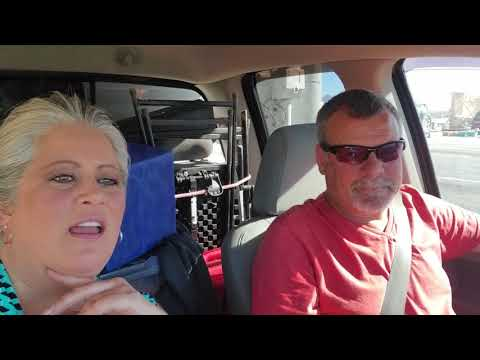 Nomadic Fanatic Gets Rattled By Class A Driver. Leaving Ehrenberg Az. Heading To Yuma Az.