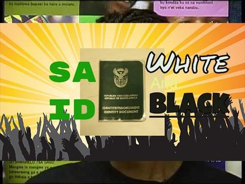 Cici Mondwaba SA ID SAID refuse languages like Afrikaans or zulu