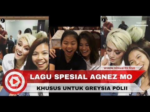 """Sorry"" Dinyanyikan Agnez Mo Spesial untuk Greysia Polii"
