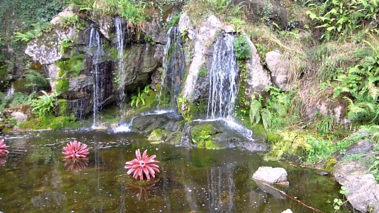 Pretty Waterfall At Blarney Castle Amp Gardens Cork Youtube