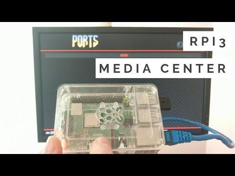 Build a Raspberry Pi 3 Media Center