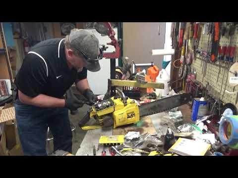 Kents McCulloch 1-44 Chainsaw Test Run
