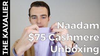 Naadam Unboxing - $75 Cashmere Sweater?