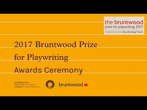 The Bruntwood Prize for Playwriting 2017 Ceremony