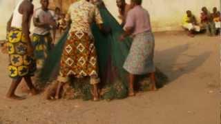 Zangbeto Voodoo Mask Festival in Benin in HD