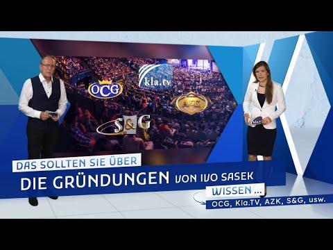 Das sollten Sie über die Gründungen von Ivo Sasek wissen... (OCG, Kla.TV, AZK, ...)  kla.tv/19102