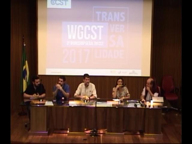 3 - Tarde - MESA REDONDA - DISCUSSÕES  FINAIS 2: TRANSVERSALIDADE E FUTURO DO CCST - IIIWGCCST2017