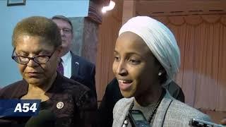 U.S. Congresswomen Karen Bass And Ilhan Omar Hold Talks In Niger