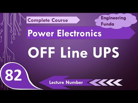 Off Line UPS- Uninterrupted Power Supply Diagram & Working in Power  Electronics by Engineering Funda