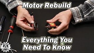 Brushed Motor Rebuild and Break In