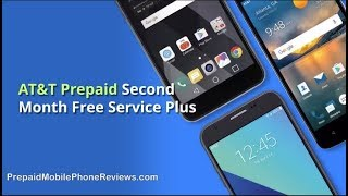 AT&T Prepaid Second Month Free Service Plus Free ZTE Maven 3 for New Users