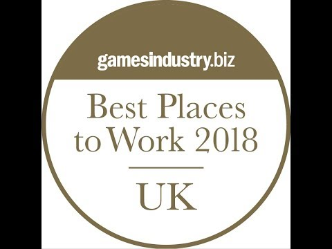 GamesIndustry.biz Best Places To Work Awards 2018 Video