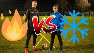 Superfly Freekick Battle vs MAxpower ft NIKE FIRE AND ICE PACK Who ...