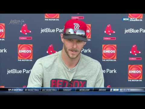 Chris Sale Spring Training Press Conference