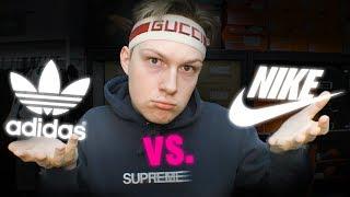 Nike vs Adidas. Która marka jest lepsza?