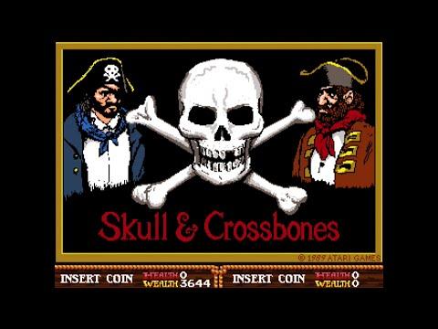 Skull & Crossbones - Full Arcade Longplay - Atari 1989