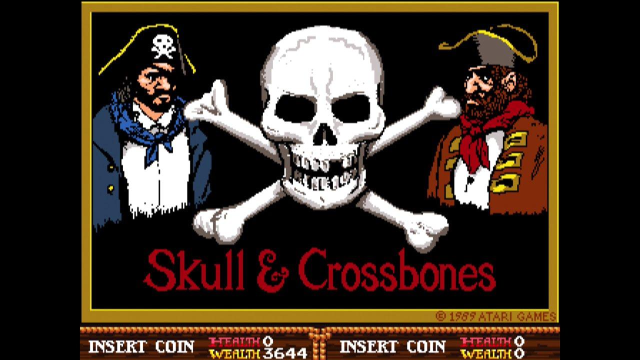 Skull Crossbones Full Arcade Longplay Atari 1989 Youtube