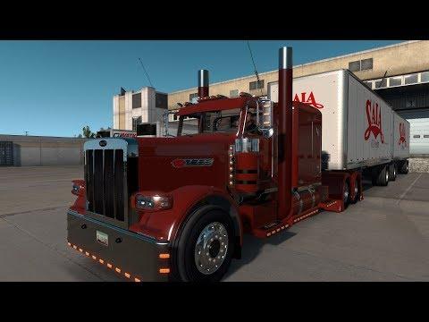 American Truck Simulator 389 Pete (Saia Dbl) Roswell NM To Hobbs NM