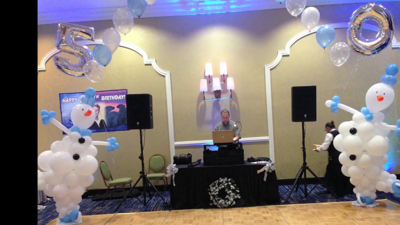 North Pole Theme Balloon Decoration in restaurant. DreamARK Events ...