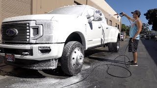 DON'T Let The Dealership Wash Your New Truck!