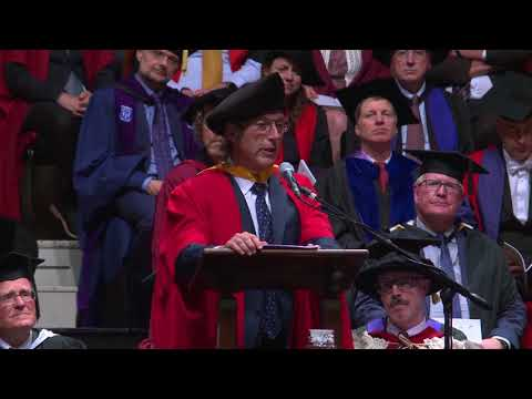 Graeme Hart, Otago MBA Alumnus, at his Honorary Doctorate Conferral