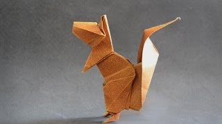 Origami: Squirrel