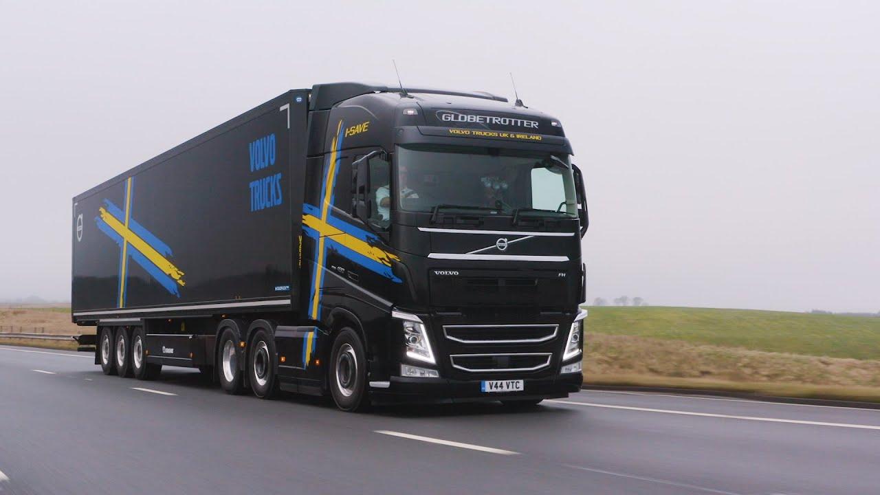 Volvo FH I-Save 'Record Breaker' bij Commercial Motor in UK | Volvo Trucks