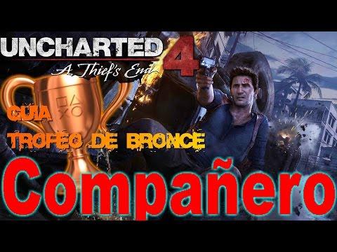 COMPAÑERO (Lugarteniente) | Trofeo de bronce | Uncharted 4 | Guia tutorial