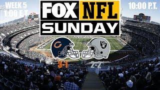 2019 NFL Season - Week 5 - (Prediction) - Bears at Raiders
