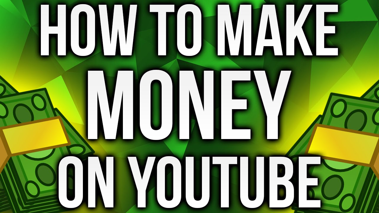 How to make money off youtube gaming