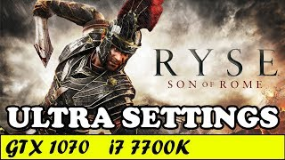 Ryse Son of Rome (Ultra Settings) | GTX 1070 + i7 7700K [1080p 60fps]