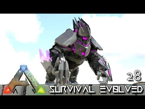 Download Youtube: ARK: SURVIVAL EVOLVED - POWER TEK GORILLA & ALPHA TREX !!! E28 (MOD ANNUNAKI PROMETHEUS RAGNAROK)
