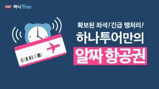 [하나투어] 하나프리, 항공권 CM광고