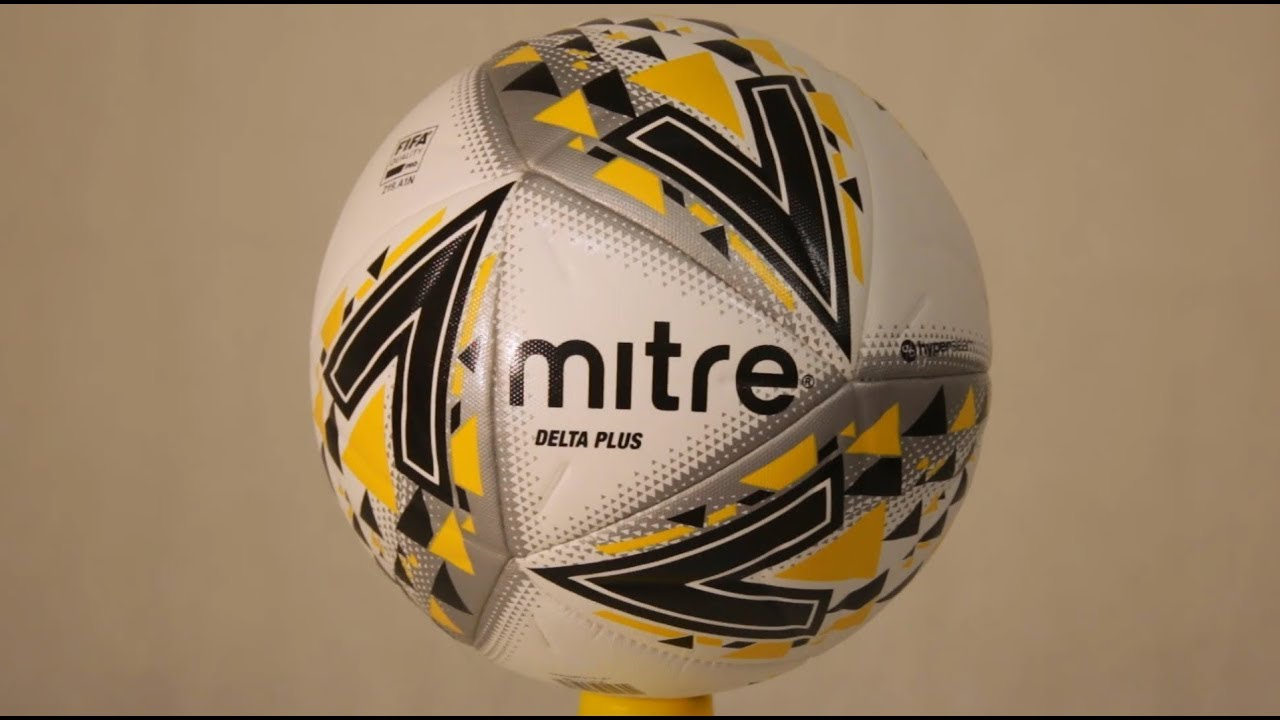 fde8696f08719 Mitre Delta Plus Pro Match Football White - YouTube