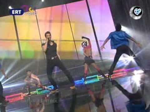Sakis Rouvas   Out Of Control Eurovision 2009 Greek Choice Show